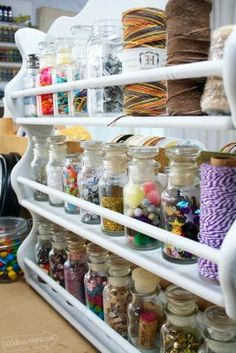 Spice rack craft supply storage