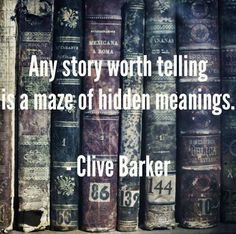 Any story worth telling is a maze of hidden meanings | Anonymous ART of Revolution