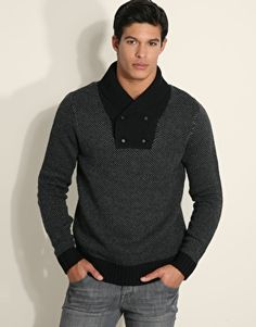 The latest men's fashion tips, style advice and grooming techniques broken down at FashionBeans. Latest Mens Fashion, Men Style Tips, Basic Style, Jumpers, Fashion Advice, Knit Cardigan, Men Sweater, Knitting, Sweaters
