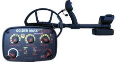 Golden Mask 4WD - Dual frequency - 8 and 18 kHz Metal Detector