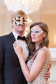 Masquerade themed