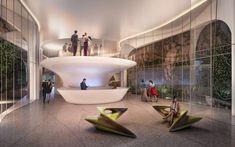Casa Atlantica.  Rendering courtesy of Zaha Hadid Architects.