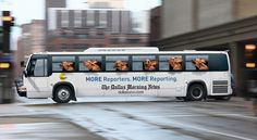 #advertising Outdoor advertising :  The best advertising ideas on the bus