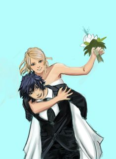 "fabula-nova-z: ""Here you go :) some sketches of Noct and Luna getting married. It's not really Christmassy oriented but Marry Christmass to all of you guys :D "" Final Fantasy Characters, Final Fantasy Xv, Fantasy Series, Fictional Characters, Noctis And Luna, Noctis Lucis Caelum, Anime People, Black Art, Getting Married"