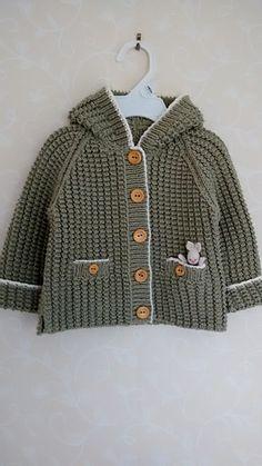 f308915de TRICO y CROCHET-madona-mía: Chaqueta para niños 2 años a tricot con ...