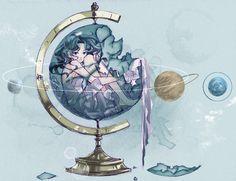 「海王星儀」/「きなこ」のイラスト [pixiv]