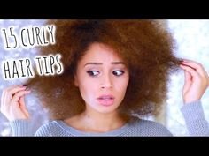 15 Curly Hair Tips You NEED To Know - YouTube