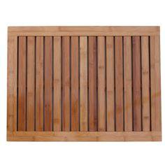 Amazon.com - Oceanstar FM1163 Bamboo Floor and Shower Mat, $30