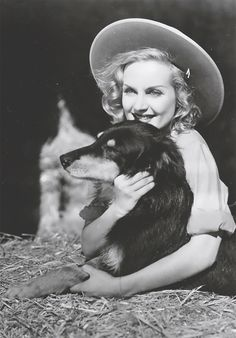 carole lombard, with Pancho Old Hollywood Movies, Golden Age Of Hollywood, Vintage Hollywood, Hollywood Stars, Classic Hollywood, Classic Actresses, Classic Films, Star Wars, Barbara Stanwyck
