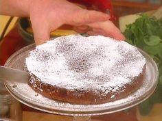 Flourless Chocolate Cake: Torta di Cioccolato Recipe : Mario Batali : Food Network - FoodNetwork.com