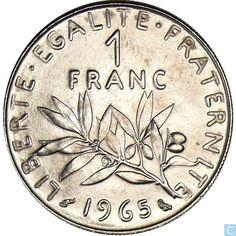 Pièce de 1 Franc en 1965