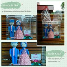 Feltdoll wedding