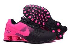 2e6e43b9357a4a Womens Nike Shox Deliver Hyper Pink Black Athletic Girl Sport Running Shoes