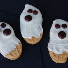 Peanutty Ghost Cookies | Spoonful