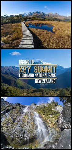Hiking to Key Summit, Fiordland National Park, New Zealand -- one of the best short hikes near Milford Sound.