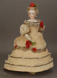 French bisque fashion dolls - Leżę pod gruszą