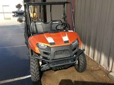 Used 2013 Polaris Ranger 800 EFI Mid-size Nuclear Sunset L ATVs For Sale in California.
