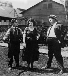 Fatty Arbuckle and Buster Keaton | Buster Keaton, Sybil Seely and Fatty Arbuckle