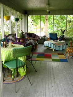 I need a huge porch