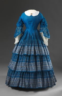 Dress  1850s  Nasjonalmuseet for Kunst, Arketektur, og Design