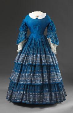Dress  1850s  Nasjonalmuseet for Kunst, Arketektur, og Design