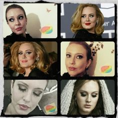 Makeup inspired in #Adele 'style ©GalleriaZ