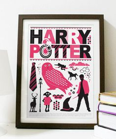 Harry Potter - Poster A3 Print