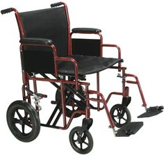 Drive Medical Heavy Duty - Drive Medical Heavy Duty/High Weight Capacity Transports