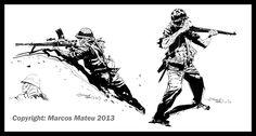 Marcos Mateu-Mestre: WWII Sketches