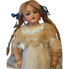 Divine little character German doll by Simon & Halbig desirable mold 1249 Santa