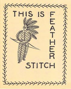 My Vintage Mending: The Gingham Book of Embroidery Part II