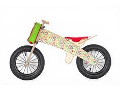 Wooden Runbike Apples Balance Bike Wooden by thewoodenhorse