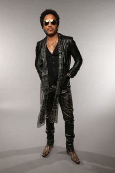 Lenny Kravitz Leather Jacket