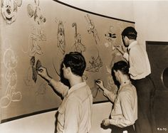 Les Clark, of Disney's Supreme Court Old Disney, Vintage Disney, Disney Magic, Disney Art, Walt Disney Animation, Animation Film, Animated Teacher, Disneysea Tokyo, Walter Elias Disney