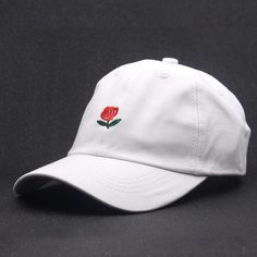Mens White Lovely Llama and Cacti Flat Baseball Cap Fitted Dad Hat for Unisex