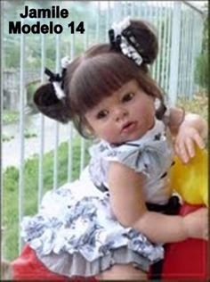 0010 Boneca bebê Reborn Jamile ou Ricardo igual a um bebe de verdade
