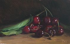Market day cherries