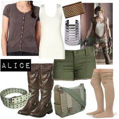 Character: Alice Fandom: Resident Evil Film: Resident Evil: Extinction