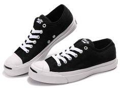 398b9b1a1cb3 Converse Jack Purcell Svart Duk Work Sneakers