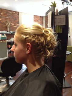 Skippack Stylekrafters Updo with Side Braid