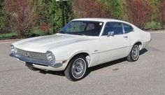 1971 Ford Maverick - stock 6 cyl. , clmn. 3-spd.