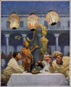 1915 Scrib - Wyeth