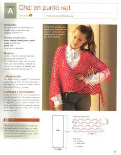 Chal en Punto Red Crochet