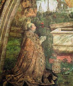 Alexander VI (Rodrigo Borgia) by Pinturicchio.