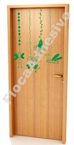 Vinilo decorativo para puerta  https://www.facebook.com/FlocaAdhesivos