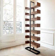 thedesignwalker: The Severin Bookshelf by Alex de Rouvray