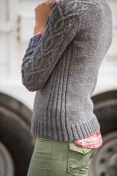 Hitch Pullover - Knitting Daily