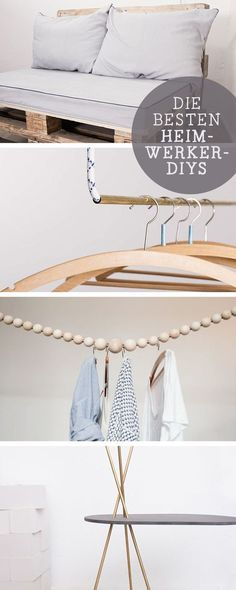 DIY-Anleitungen: Die besten Heimwerkerprojekte, Wohn-DIYs / diy tutorials for you home, living crafting ideas via DaWanda.com