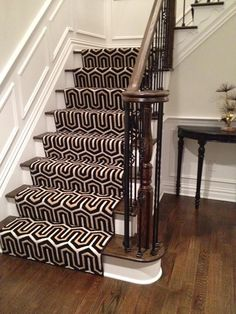 A Stunning Geometric Stair Runner. A Good Alternative If We Canu0027t Find  Starks