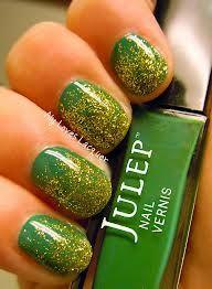 Packers nail polish